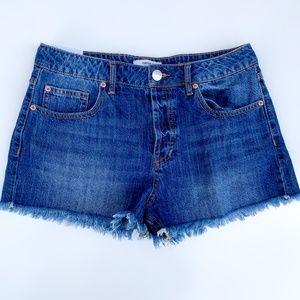 NWT Forever 21 Mid-Rise Cut-Off Denim Shorts